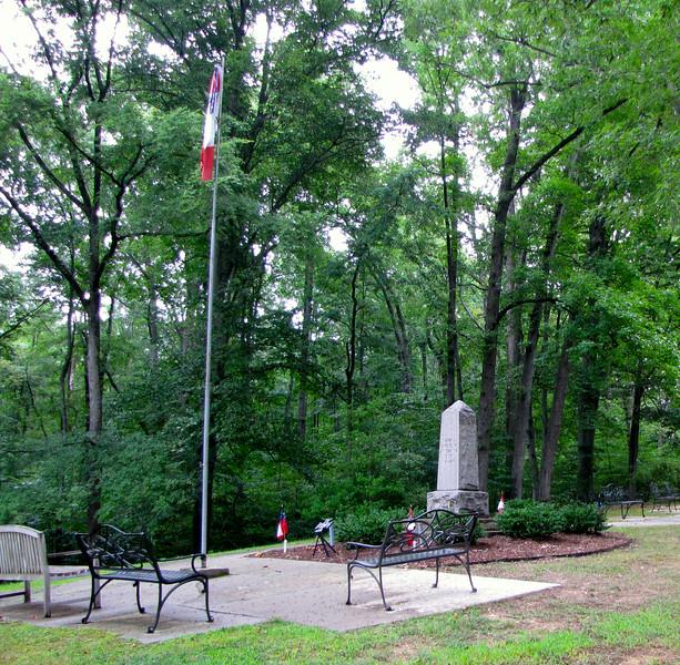Memorial Area - Confederate Cemetery - Farmville, VA