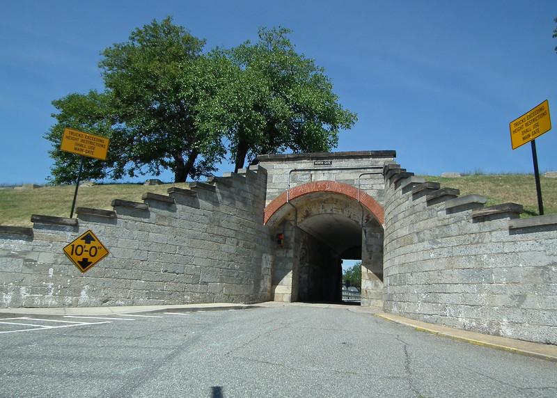 North Gate From Within Fort Monroe - Hampton, VA