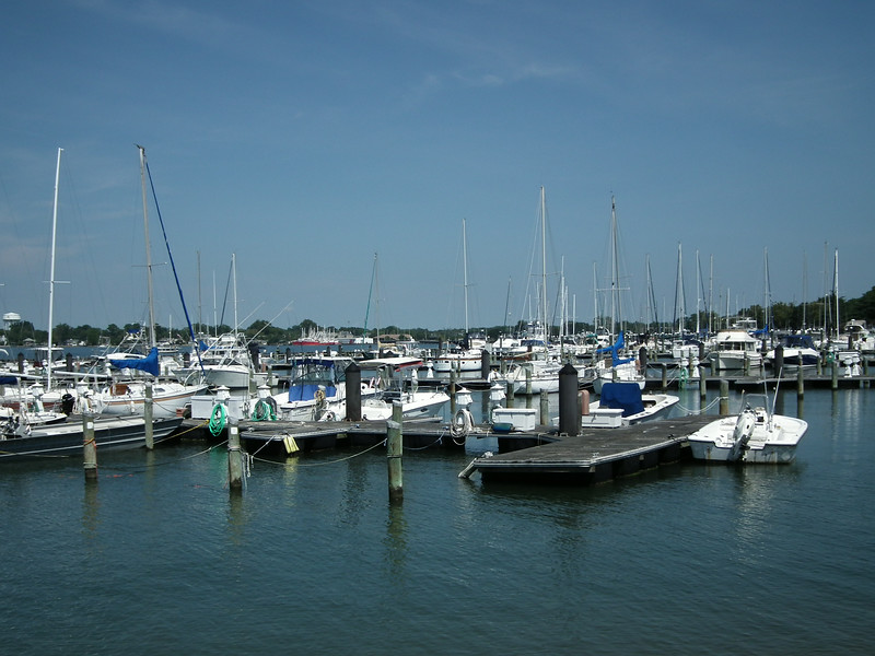 View of Harbor Area From Old Point Comfort Marina - Fort Monroe - Hampton, VA