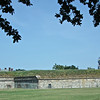 Fort Monroe Walls Facing The Harbor - Hampton, VA<br /> This is across from Battery Parrott.
