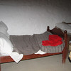 Beds Were Short - They Slept Sitting Up Because of Smoke from Fire-Irish Home - Frontier Culture Museum