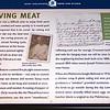 Signage: Preserving Meat - Gari Melcher's Home & Studio - Belmont Estate - Fredericksburg, VA
