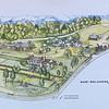 Map of Estate -  - Gari Melcher's Home & Studio - Belmont Estate - Fredericksburg, VA