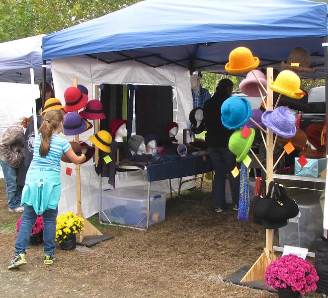 I Love Hats - Graves Mountain Apple Harvest Festival - 10/19/13