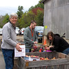Randal Ready to Take Apples to Register - Graves Mountain Apple Harvest Festival - 10/19/13