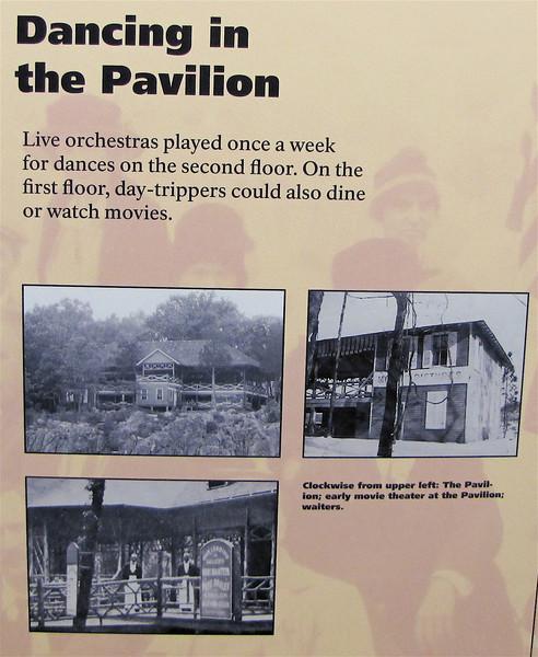 Signage About The Dance Pavilion - Great Falls National Park - McLean, VA  10-1-10