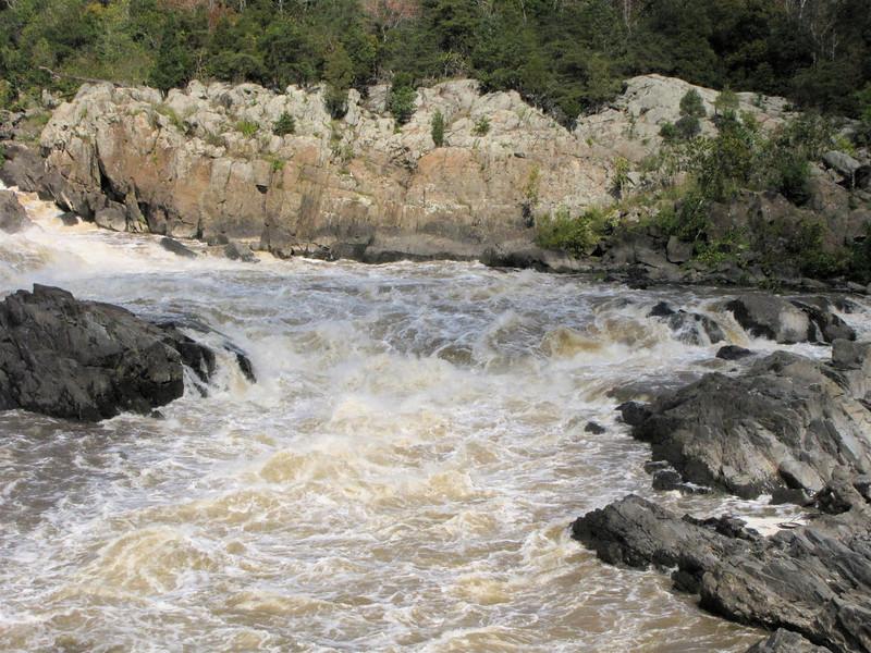 Waterfalls at Great Falls National Park - McLean, VA  10-1-10