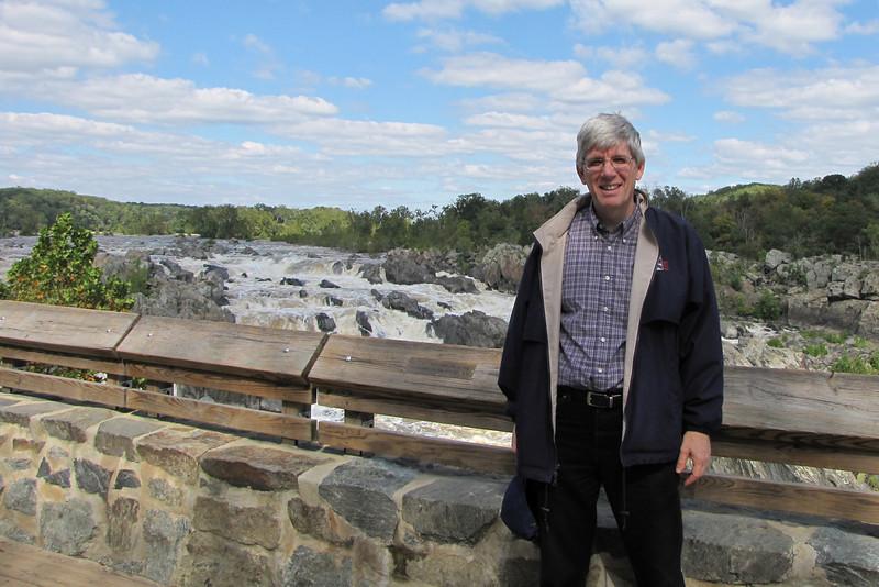 Randal Having a Great Time at Great Falls National Park - McLean, VA  10-1-10
