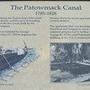 Signage About The Patowmack Canal - Great Falls National Park - McLean, VA  10-1-10 ~~~ Washington was convinced such canals would stimulate trade between the East and the Ohio Valley and bind the country together in a framework of trade and mutual interest.  During the 26 years that the canal system was in operation, flour, corn, whiskey, furs, tobacco, iron ore, and timber were poled down the river on flatboats from as far away as Cumberland, MD, a market center in the Allegheny Mts.  It took 3 days to travel the 190+ miles from Cumberland to Georgetown.  Most boatmen dismantled their boats, sold them for the lumber, and walked back home.