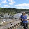 Donna at Great Falls National Park - McLean, VA  10-1-10