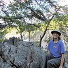 Donna at Nice Spot Along The Trail - Great Falls National Park - McLean, VA  10-1-10