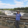 Donna Having a Great Time at Great Falls National Park - McLean, VA  10-1-10
