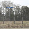 Street Sign for Valentine's Day - Valentine Mill Road