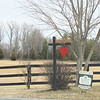 Sweet Heart Farm with a Heart for Valentine's Day