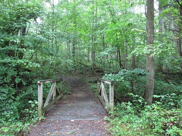 Farmville, VA - Hampden-Sydney College's Wilson Trail