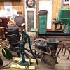 Variety of Antique Items in Display Barn - Bluebird Gap Farm - Hampton, VA