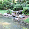 Waterfall Into Pond - James Madison University's Edith J. Carrier Arboretum - Harrisonburg, VA