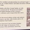 Signage at Glasshouse Point - Historic Jamestown National Park, VA  10-22-10
