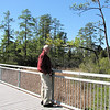 Randal on Bridge Over Swamp Area - Historic Jamestown National Park, VA  10-22-10