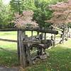 Unusual Gate - Humpback Rocks Homestead - Blue Ridge Parkway, Virginia
