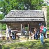 Homestead Cabin - Fall Farm Fest at Humpback Rocks Homestead on the Blue Ridge Parkway  9/15/12
