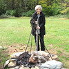 Dianne - Campfire Cooking - Humpback Rocks Homestead - Blue Ridge Parkway, Virginia