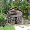 Root Cellar and Meat Storage - Humpback Rocks Homestead - Blue Ridge Parkway, Virginia