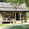 Homestead Cabin - Humpback Rocks Visitors Center - Milepost 5.8 - Blue Ridge Parkway  9-3-10