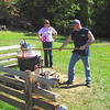 Making Apple Butter - Fall Farm Fest at Humpback Rocks Homestead on the Blue Ridge Parkway  9/15/12