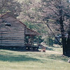 Side View of Cabin - Humpback Rocks Frontier Homestead - Blue Ridge Parkway Milepost 5.8, VA  6-8-01