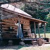 Cabin - Humpback Rocks Frontier Homestead - Blue Ridge Parkway Milepost 5.8, VA  6-8-01
