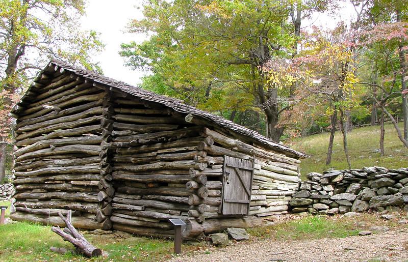 The Barn - Humpback Rocks Homestead - Blue Ridge Parkway, Virginia