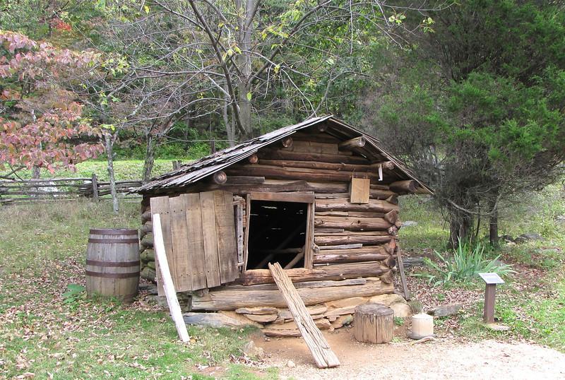 Chicken House - Humpback Rocks Homestead - Blue Ridge Parkway, Virginia