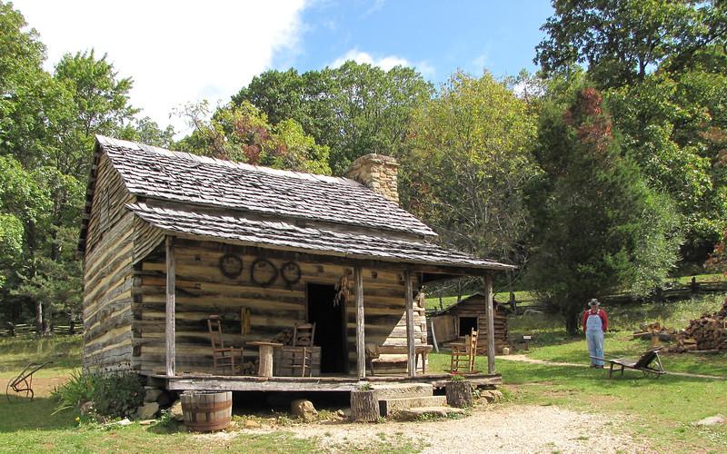 Humpback Rocks Homestead Home - Blue Ridge Parkway, Virginia