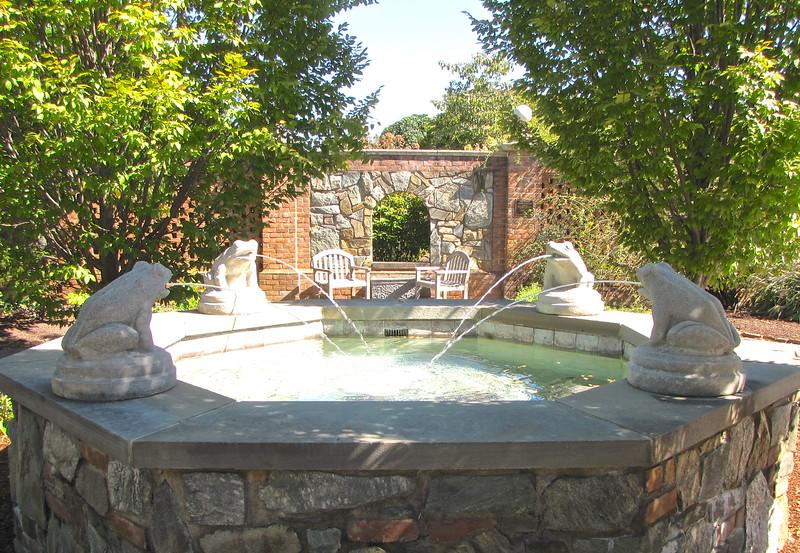 Frog Fountain - Lewis Ginter Botanical Gardens - Richmond, VA