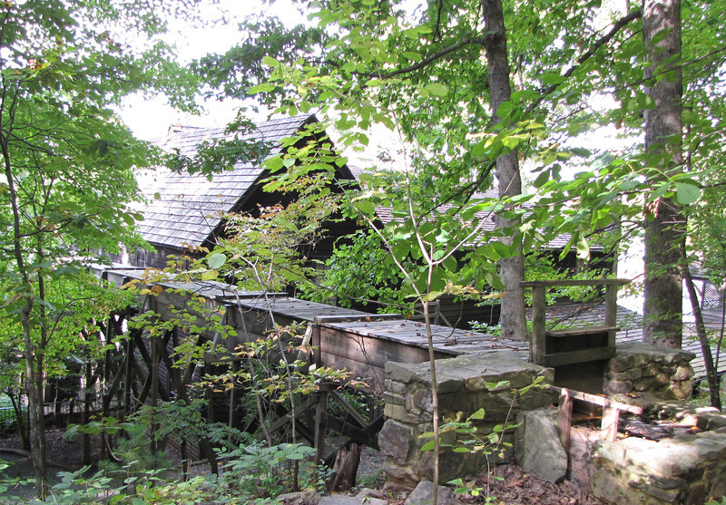 Area Behind Meadow Run Mill & General Store by Michie Tavern, Charlottesville, VA