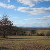 """Gorgeous Day Scene in Albemarle County<br /> A """"mountain view"""" to me is being in the valley and looking up at the mountains.  I love seeing the heavens and earth meet on the horizon.  No indication of any of the damage man has done to God's precious Creation."""