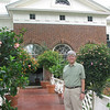 Randal on Southern Terrace of The Home at Monticello