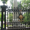 The Gateway to Monticello's Graveyard