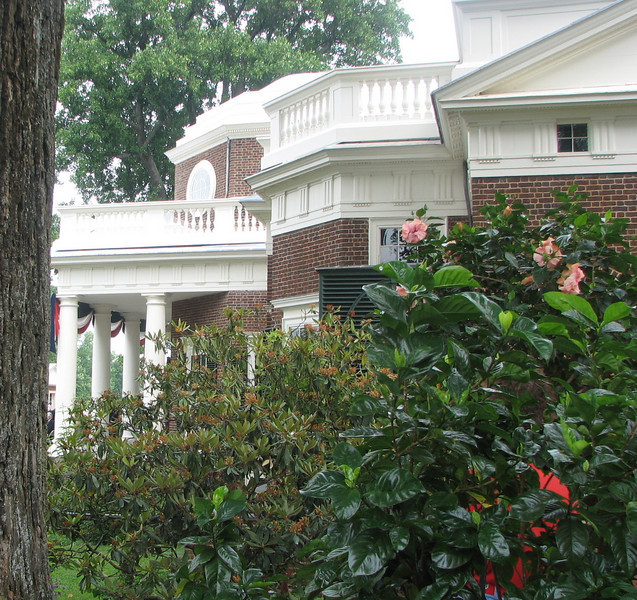 Southern Side of Monticello Home
