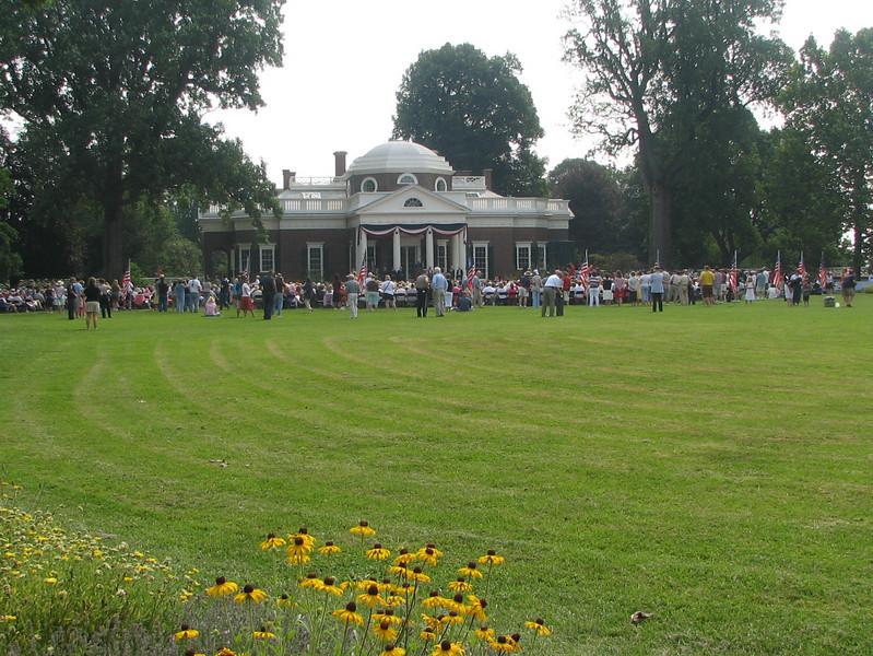 Monticello Is a Fine Example of Roman Neoclassical Architecture