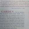 Garden Signage - Montpelier Restoration Celebration, Orange, VA