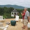 Ben and Randal Enjoying the Scenery - Mountainside Petting Farm - Afton, VA  9-3-10