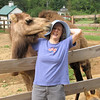 Donna and Chloe Snuggling or Snuzzling - Mountainside Petting Farm - Afton, VA  9-3-10