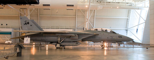 Smithsonian Institution National Air & Space Museum Steven F Udvar-Hazy Center  Chantilly, VA Grumman F-14D(R) Tomcat Nikon D300, Nikkor 17-35 f/2.8