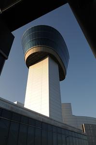 Smithsonian Institution National Air & Space Museum Steven F Udvar-Hazy Center  Chantilly, VA Donald D. Engen Tower Nikon D300, Nikkor 17-35 f/2.8