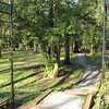 Garden Area with Path to the Woods - Occoneechee State Park - Clarksville, Virginia