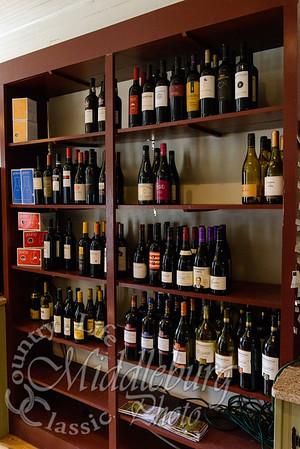 Wine Selection at the Orlean Market, Orlean Virginia