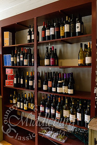 Wine Selection at the Orlean Market, Orlean Virginia