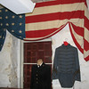 Flag Used as Window Decoration - Fluvanna History Museum